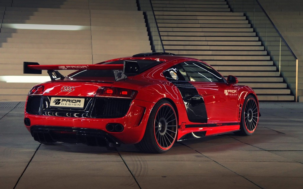 Audi R8 - Neymar