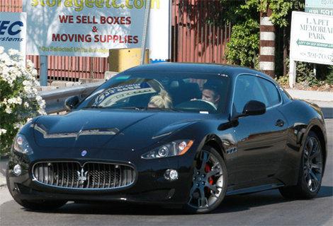 Britney Spears - Maserati Granturismo