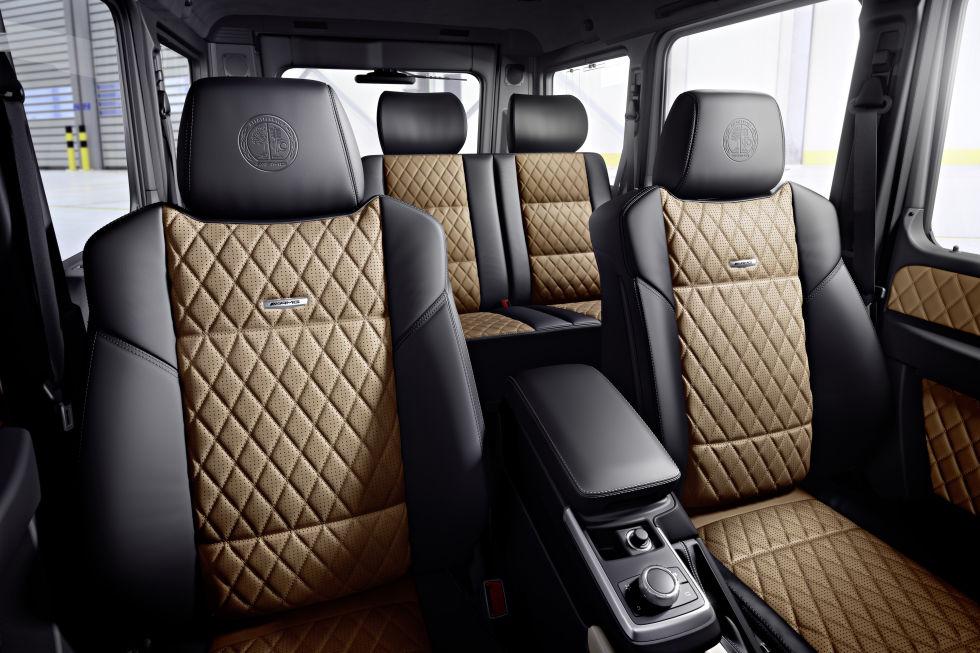 Mercedes-Benz G-Class Interior Assentos