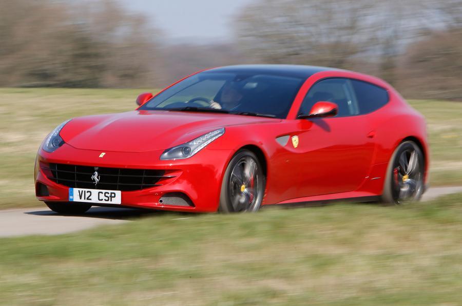 Ferrari FF Lateral