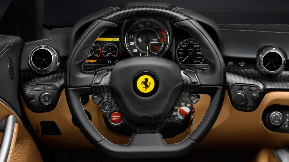 Ferrari F12 Berlinetta - volante