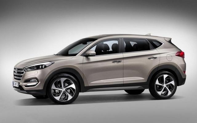 Hyundai IX35 2016 - Lateral