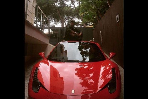 Neymar Jr - Ferrari 458