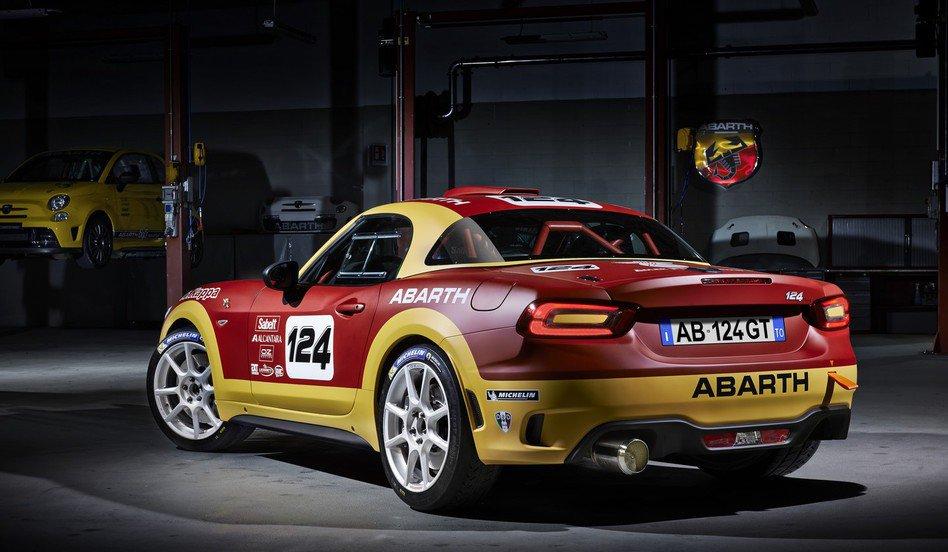 Abarth 124 Rally - Traseira