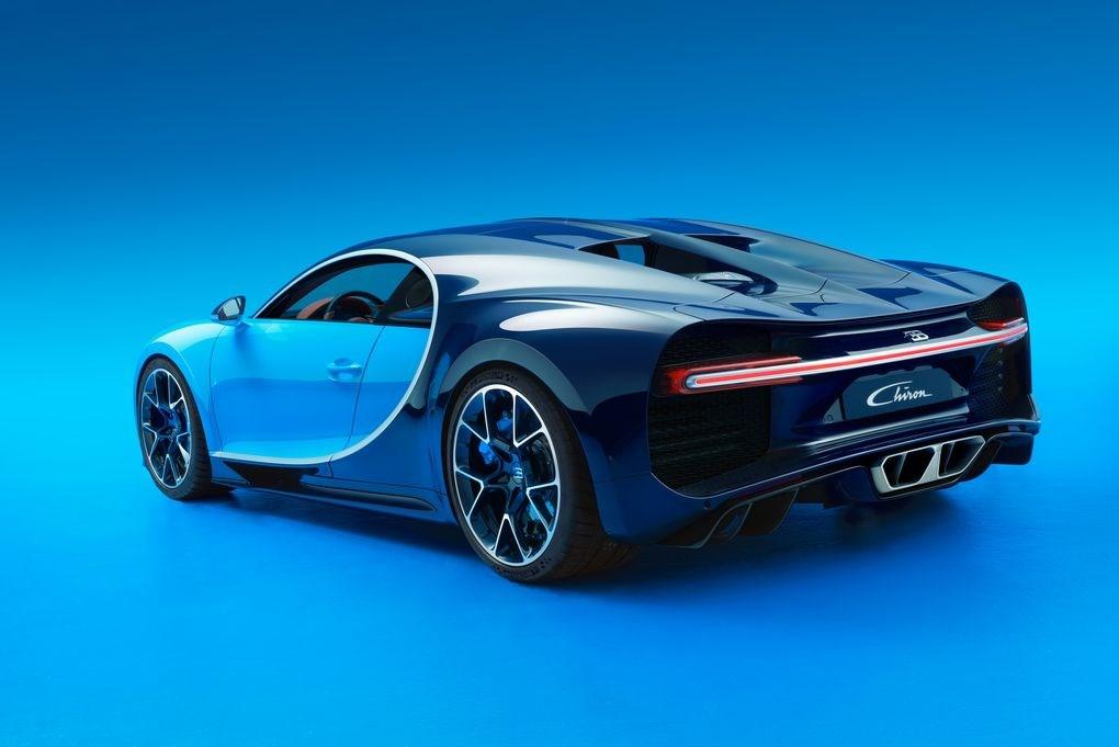 Bugatti Chiron - Traseira
