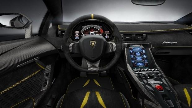 Lamborghini Centenario - Interior